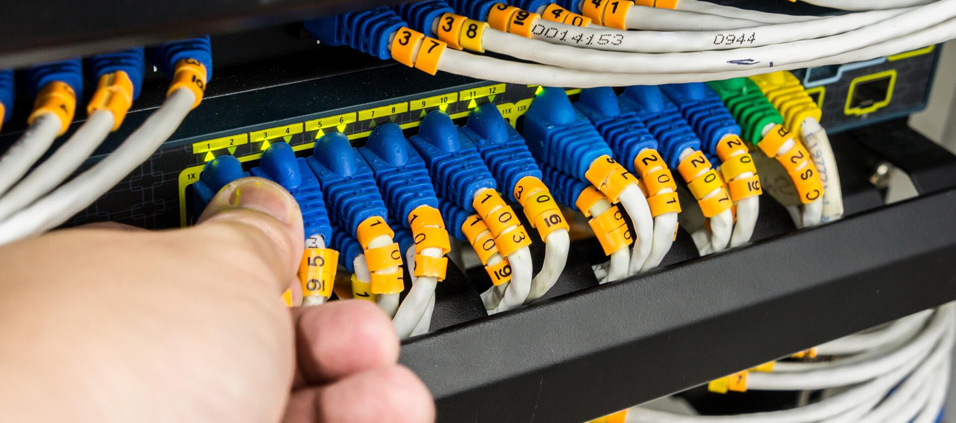 Team4IT IT-Lösungen Netzwerk-Installation