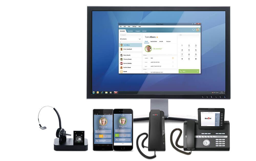 Team4IT IT-Lösungen Kommunikation Swyx - Voice over IP Telefonie