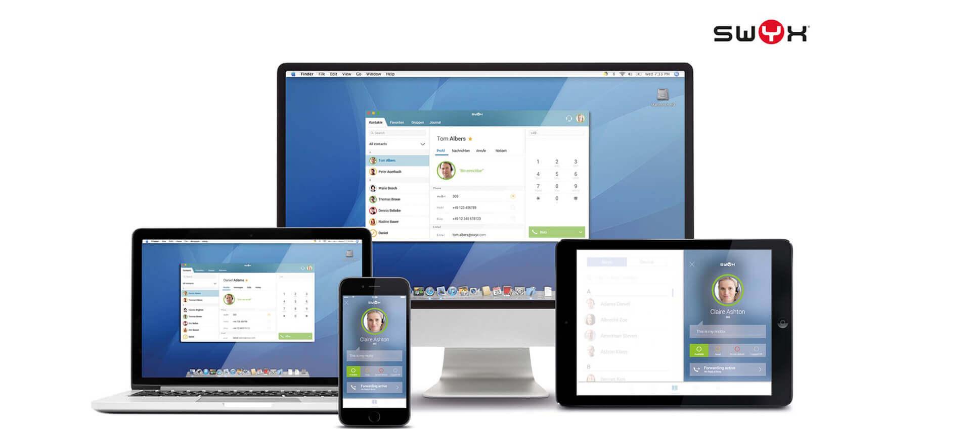 Team4IT IT-Lösungen VoIP Kommunikationslösung Swyx