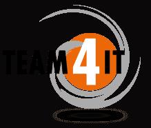 Team4IT - IT-Dienstleistungen und Server-Visualisierungen Logo